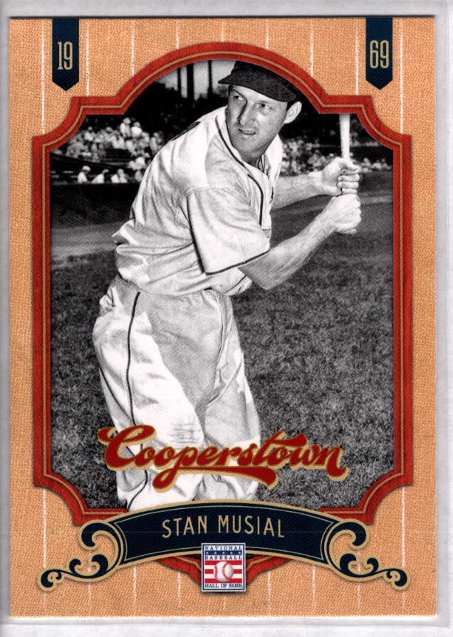 STAN MUSIAL 2012 Panini Cooperstown Collection #92