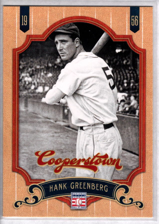 HANK GREENBERG 2012 Panini Cooperstown Collection #71