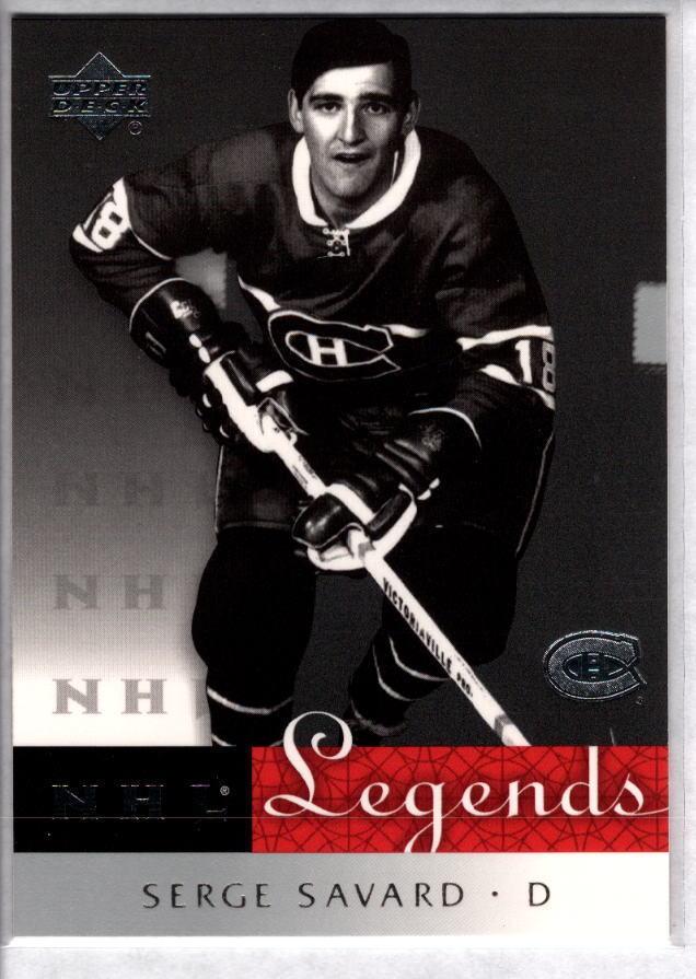 SERGE SAVARD 2001-02 Upper Deck Legends #32