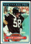 1980 Topps #280 Jack Lambert NM Near Mint