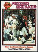 1979 Topps #335 Walter Payton RB NM Near Mint Chicago Bears