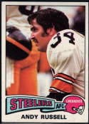 1975 Topps #90 Andy Russell EX/NM Pittsburgh Steelers