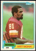 1981 Topps #194 Art Monk NM Near Mint RC Washington Redskins