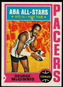 1974-75 Topps #220 George McGinnis EX/NM Indiana Pacers