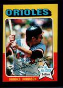 1975 Topps Mini #50 Brooks Robinson AS EX/NM Baltimore Orioles