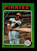 1975 Topps Mini #100 Willie Stargell EX Excellent Pittsburgh Pirates