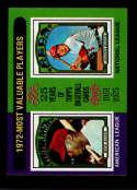 1975 Topps Mini #210 1972 's Dick Allen/Johnny Bench MVP EX/NM Chicago White Sox/Cincinnati Reds