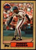 1987 Topps Tiffany #130 Dwight Gooden NM Near Mint New York Mets