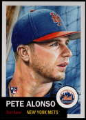 2019 Topps Living Set #176 Pete Alonso NM-MT+ RC New York Mets