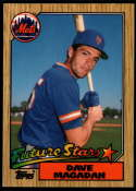 1987 Topps Tiffany #512 Dave Magadan NM Near Mint New York Mets