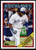 2019 Topps Throwback Thursday #248 Vladimir Guerrero Jr. NM-MT+ Toronto Blue Jays