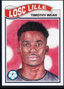 2019 Topps Living Set UEFA Champions League #98 Timothy Weah NM-MT+ LOSC Lille