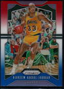 2019-20 Panini Prizm Prizms Red White and Blue #20 Kareem Abdul-Jabbar NM-MT+ Los Angeles Lakers