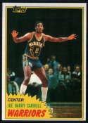 1981-82 Topps #W71 Joe Barry Carroll NM-MT RC Golden State Warriors