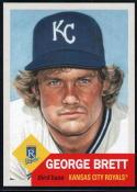 2020 Topps Living Set #287 George Brett Kansas City Royals