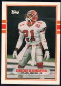 1989 Topps Traded #30 Deion Sanders NM-MT+ RC Atlanta Falcons
