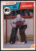 1983-84 O-Pee-Chee #268 Pelle Lindbergh NM Near Mint RC Philadelphia Flyers