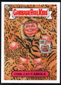 2020 Topps Garbage Pail Kids Gone Exotic #4A Cool Cat Carole NM-MT+