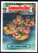 2020 Topps Garbage Pail Kids Gone Exotic #5A Disturbing Doc NM-MT+