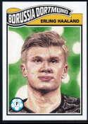 2020 Topps Living Set UEFA Champions League #154 Erling Haaland NM-MT+ Borussia Dortmund