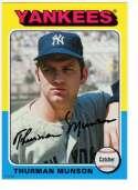 2019 Topps Archives 5x7 #178 Thurman Munson NM-MT+ /49 New York Yankees