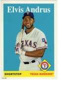 2019 Topps Archives 5x7 #8 Elvis Andrus NM-MT+ /49 Texas Rangers