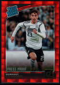 2018-19 Donruss Press Proof Red #191 Kai Havertz Rated Rookie NM-MT+ Germany