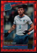 2018-19 Donruss Press Proof Red #193 Patrick Cutrone Rated Rookie NM-MT+ Italy