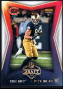 2020 Panini Instant Draft Night #29 Cole Kmet NM-MT+ Chicago Bears