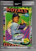 2020 Topps Project 2020 by Tyson Beck #55 George Brett /1992 Kansas City Royals