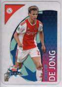 2018-19 Topps UEFA Champions League Crystal #99 Frenkie De Jong NM-MT+ Ajax