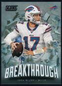 2020 Score Breakthrough #8 Josh Allen NM-MT+ Buffalo Bills