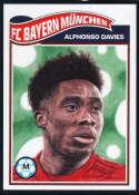 2020 Topps Living Set UEFA Champions League #169 Alphonso Davies NM-MT+ FC Bayern Munchen