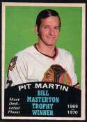 1970-71 O-Pee-Chee #253 Pit Martin Masterton Award EX/NM Chicago Blackhawks