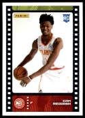 2019-20 Panini NBA Stickers Trading Cards #96 Cam Reddish NM-MT+ RC Atlanta Hawks