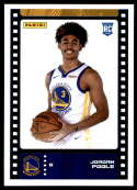 2019-20 Panini NBA Stickers Trading Cards #98 Jordan Poole NM-MT+ RC Golden State Warriors