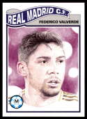 2020 Topps Living Set UEFA Champions League #174 Federico Valverde NM-MT+ Real Madrid CF