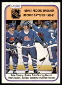 1981-82 O-Pee-Chee #395 Peter Stastny RB NM-MT Quebec Nordiques