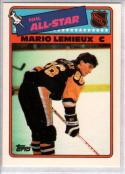 MARIO LEMIEUX 1988-89 Topps All Star Insert #2